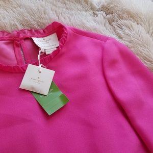 Kate Spade pink dizzy dress NWT sz 4